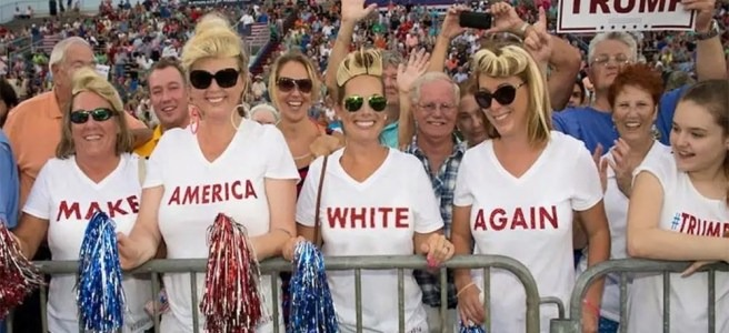 Make America Great Again» significó siempre «Make America White Again