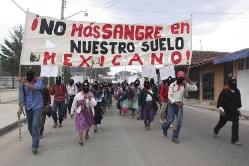 Denuncian agresiones paramilitares a las comunidades zapatistas en Chiapas